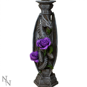 DRAGON COLUMN, CANDLESTICK - CANDLE HOLDERS, FIGURES