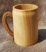 WOODEN TANKARD - DISHES, SPOONS, COOPERAGE