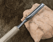 WOOD CHISEL, HAND FORGED, TYPE XXII - FORGED CARVING CHISELS
