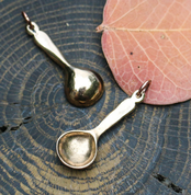SPOON, PENDANT, BRONZE - MIDDLE AGES, OTHER PENDANTS