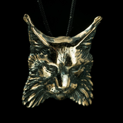 LYNX, PENDANT, BRONZE - ANIMAL PENDANTS