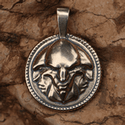 TRIGLAV SLAVIC GOD, BRONZE PENDANT - PENDANTS, NECKLACES