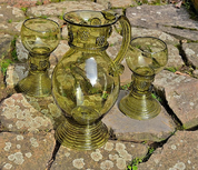 ROEMER, GLASS SET - HISTORICAL GLASS