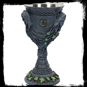 MOTHER MAIDEN & CRONE CHALICE - ALTAR TOOLS