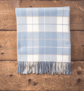PARMA TARTAN, LAMBSWOOL BLANKET, IRELAND - WOOLEN BLANKETS AND SCARVES, IRELAND