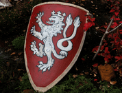 MEDIEVAL SHIELD WITH LION FOR HMB - BATTLE READY SHIELDS