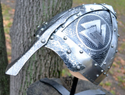 KNUT, NORMAN COMBAT READY HELMET - VIKING AND NORMAN HELMETS