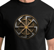 DOUBLE KOLOVRAT, T-SHIRT, ROD - SERBIA - PAGAN T-SHIRTS