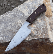 RUFUS, HAND FORGED BLACK KNIFE - KNIVES