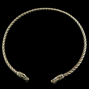 BEAST FROM GOTLAND,  VIKING TORQUES - BRONZE - TORCS, NECKLACES