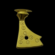 AXE OF PERUN, SLAVIC PENDANT, 14K GOLD - GOLDEN JEWELLERY