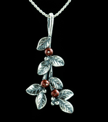 CRANBERRIES, PENDANT, SILVER - PENDANTS WITH GEMSTONES, SILVER
