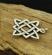 STAR OF SVAROG, SILVER PENDANT - PENDANTS - HISTORICAL JEWELRY