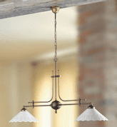 LORENA CERAMIC PENDANT LAMP 2043-2 - CEILING LAMPS