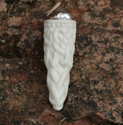 VIKING KNOT, CARVED BONE PENDANT - VIKING PENDANTS