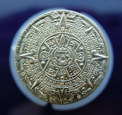 PIRATE COIN - AZTEC, BRASS - MEDIEVAL AND RENAISSANCE COINS
