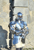 MEDIEVAL POLISHED HALF ARMOUR, 1.5 MM - SUITS OF ARMOUR
