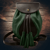 SULLIVAN, SCOTTISH SPORRAN, GREEN WITH BELT - BAGS, SPORRANS