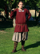 VIKING TUNIC, WOOL, WITH EMBROIDERY - CLOTHING FOR MEN