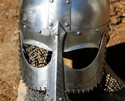 EINAR, VIKING HELMET WITH AVENTAIL - VIKING AND NORMAN HELMETS