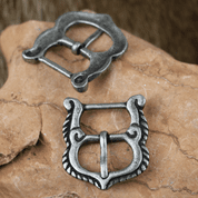 MEDIEVAL BELT BUCKLE, HUNGARY, ZINC - BELT ACCESSORIES
