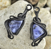 SODALITE - EARRINGS - FANTASY JEWELS