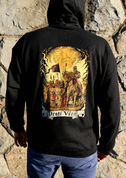 AGAINST ALL, HOODIE - PAGAN T-SHIRTS NAAV FASHION