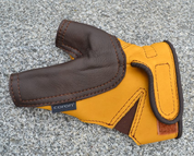 ARCHERY GLOVE, FINE LEATHER, PROFESSIONAL - EQUIPMENT FOR ARCHERY