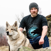 FENRIR, VIKING WOLF, T-SHIRT - PAGAN T-SHIRTS NAAV FASHION