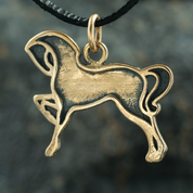 CELTIC HORSE, BRONZE PENDANT - ANIMAL PENDANTS