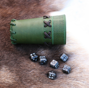 SET OF SIX FORGED DICE - FORGED PRODUCTS