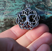 CELTIC TREE OF LIFE, KNOTTED, TIN PENDANT - CELTIC PENDANTS