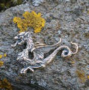 LUCIUS - DRAGON, PENDANT, BRONZE - PENDANTS, NECKLACES