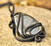 HEMATITE- PENDANT - BIG STONE - FANTASY JEWELS