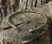 JELLING - VIKING DRAGON, TORC - FORGED JEWELRY, TORCS, BRACELETS