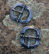 HISTORICAL BUCKLE XIII, COLOUR SILVER - BELT ACCESSORIES