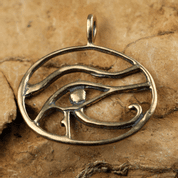 UDYAT THE EYE OF HORUS, BRONZE PENDANT - BRONZE AND BRASS REPLICAS - JEWELLERY