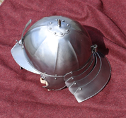 LOBSTER-TAILED POT HELMET, 17TH CENTURY - OTHER HELMETS