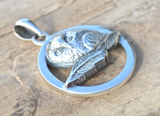 OWL, STERLING SILVER PENDANT - MYSTICA SILVER COLLECTION - PENDANTS