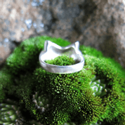 FOX, CUBIST RING, STERLING SILVER - RINGS - HISTORICAL JEWELRY