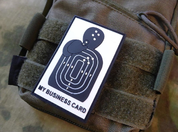 BUSINESS CARD, 3D VELCRO PATCH - MILITARY PATCHES