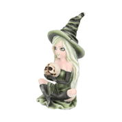 ZELDA FIGURINE WITCH SKULL ORNAMENT - FIGURES, LAMPS, CUPS