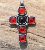 MEDIEVAL TEMPLE CROSS, PENDANT - MIDDLE AGES, OTHER PENDANTS