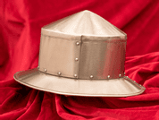 IRON HAT - RIVETED HELMET - MEDIEVAL HELMETS