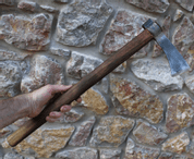 HAWK, FORGED TOMAHAWK - AXES, POLEWEAPONS
