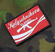 KALASCHNIKOVA, RUBBER PATCH - MILITARY PATCHES
