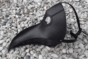 PLAGUE DOCTOR, LEATHER MASK - LEATHER MASKS