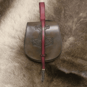 MJÖLLNIR, VIKING LEATHER BAG - BAGS, SPORRANS