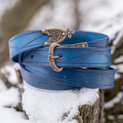BLEU ROI, MEDIEVAL LEATHER BELT - BELTS