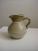 MILK JUG, CERAMIC - TRADITIONAL CZECH CERAMICS